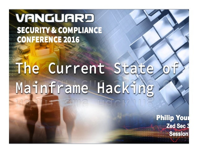 VANGUARD SECURITY & COMPLIANCE 2016 Service Probes •Identify what is running on a port •Uses TCP/UDP probes