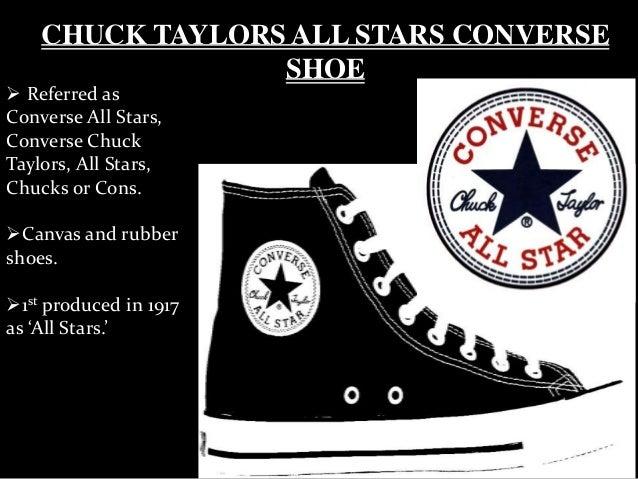 113b4f1413ca 4. CHUCK TAYLORS ALL STARS CONVERSE SHOE ...