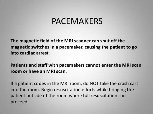 MRI of Patients With Cardiac Pacemakers: A Review of the ...