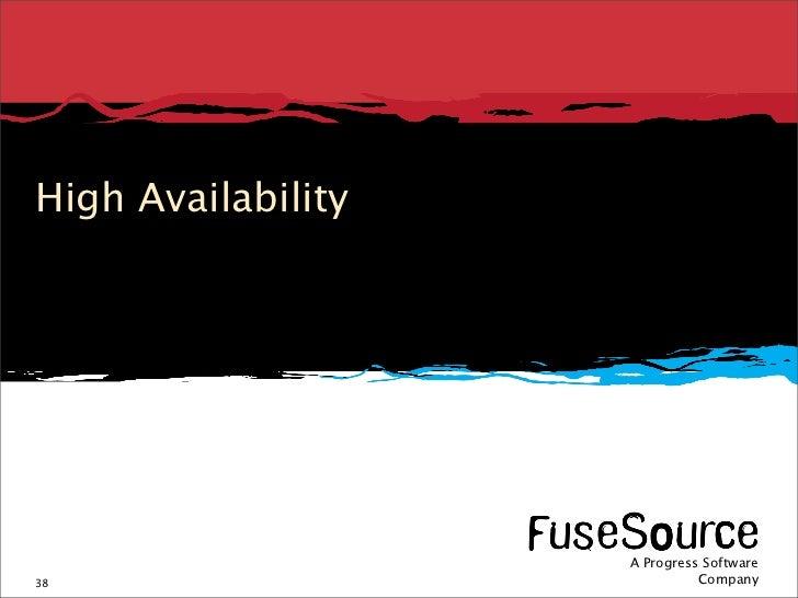 High Availability                                                                                                         ...