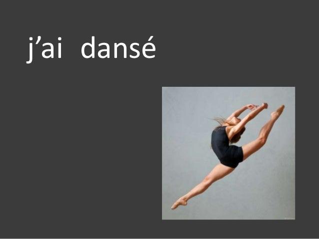j'ai dansé