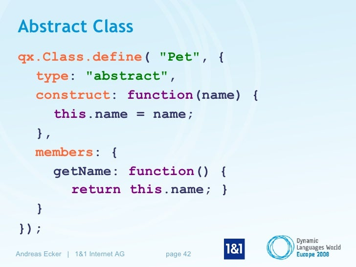 Advanced Object-Oriented JavaScript