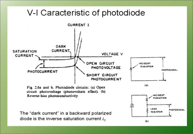 principles of photodiode and phototransistor A photo diode is a light sensitive electronic device capable of converting light into  a voltage or current signal it works on the principle of photo generation.
