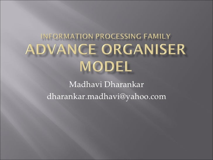 Madhavi Dharankardharankar.madhavi@yahoo.com