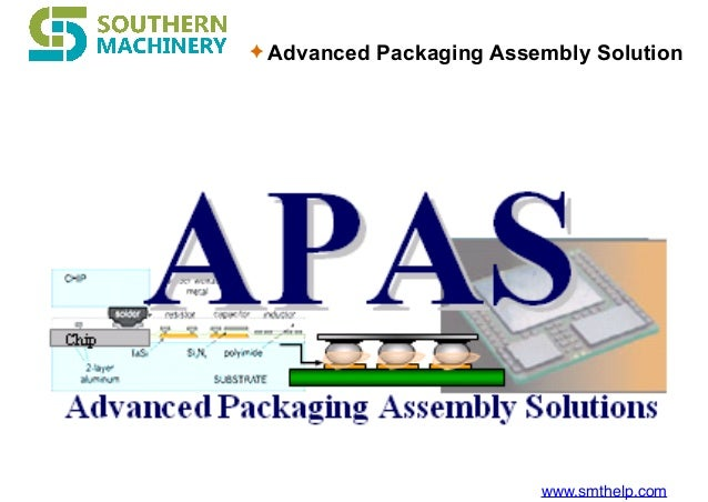 www.smthelp.com ✦ Advanced Packaging Assembly Solution