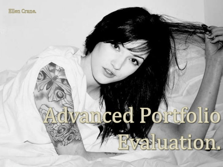 Ellen Crane.<br />Advanced Portfolio Evaluation.<br />