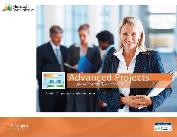 Advanced Projects                                            for Microsoft Dynamics AX                                    ...