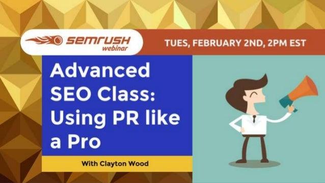 Clayton Wood Advanced Publishing & Media Class ClaytonWood.org @ClaytonWWood