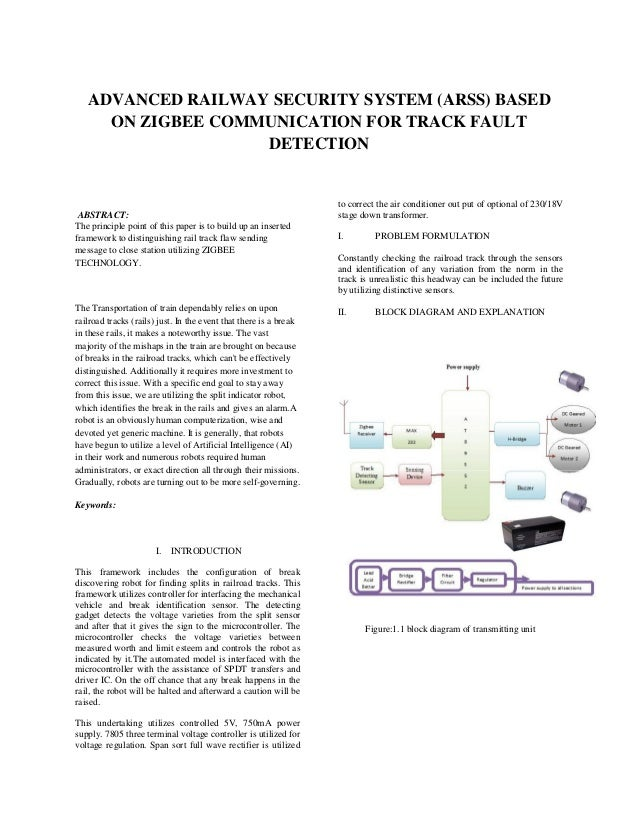 Advanced railway security system arss based on zigbee communication advanced railway security system arss based on zigbee communication for track fault detection abstract ccuart Images