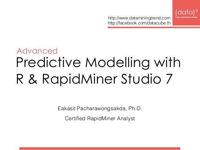 Predictive Modelling with