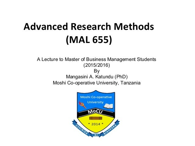 advanced research methods This advanced course is designed to build capacity amongst clinicians interested in pursuing research beyond the basics the program will guide participants through in-depth and advanced statistics for research, data management, qualitative research methodology, getting published as an author, how and where to present your research, and tips .