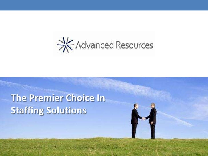 The Premier Choice InStaffing Solutions