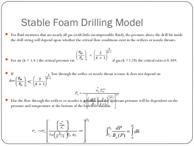 Minimum Volumetric Flow Rate  The lineAB in the figure refers to zero solids flow in the pipe (in our case the annulus). ...