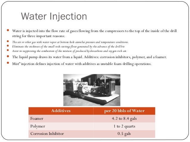 Eliminate Stickiness  The next level of injected water flow rate w/ additives is that needed to eliminate stickiness.  A...