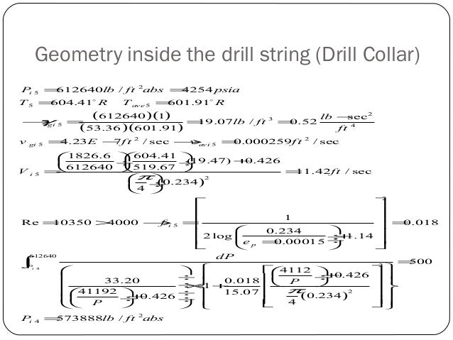 Drilling Hydraulic of Compressible and In-compressible Drilling Fluid