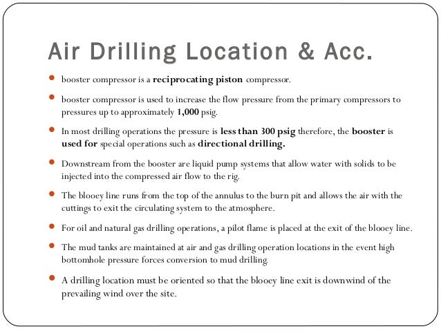 Flow Line to the Rig Bleed-Off Line: The bleed-off line allows pressure to be released throughout the flow line to the rig...