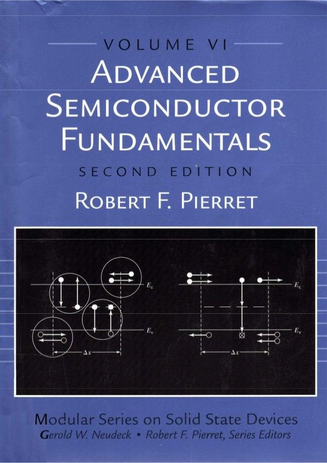 Advanced semiconductor fundamentals__se__robert_f._pierret