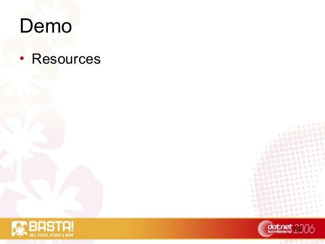 14 Demo • Resources