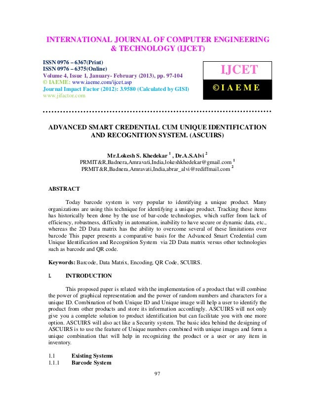 INTERNATIONALComputer EngineeringCOMPUTER ENGINEERING  International Journal of                              JOURNAL OF an...