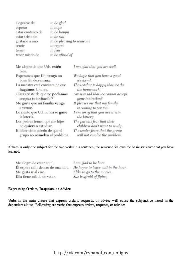 Advanced spanish step by-step