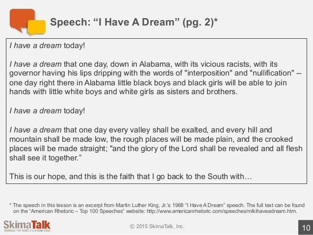 Advanced Speech Delivery Lesson 1 T