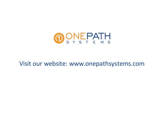 Advanced technology solutions by onepath systems