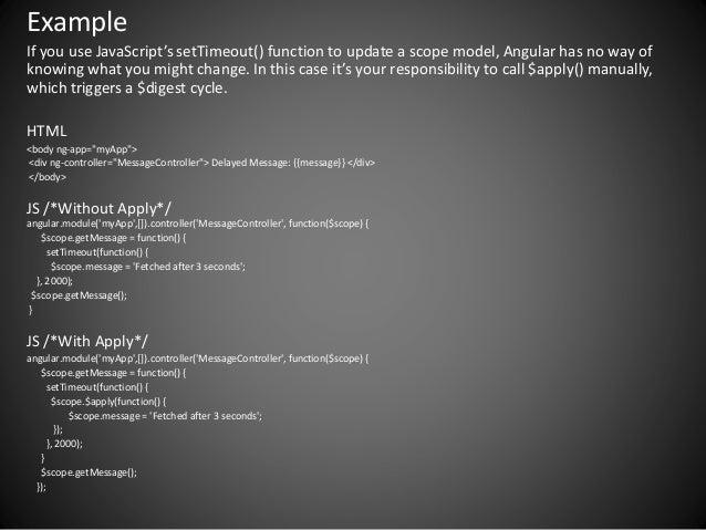 Angularjs More Than Directives