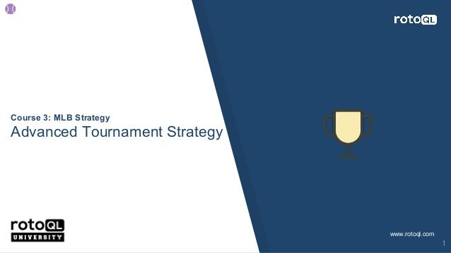 tournament strategy