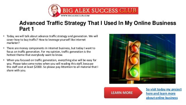 Share Online Traffic