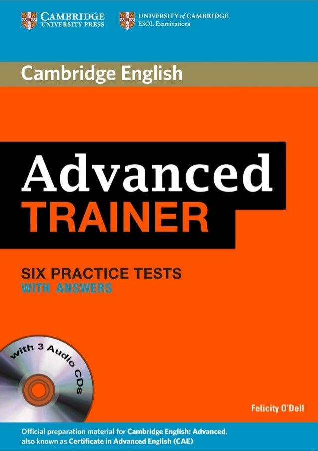 Cae Tests Pdf