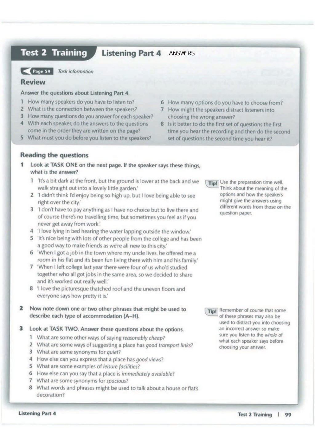 Advanced trainer 6 practice tests with answers book4joy (1) page 100