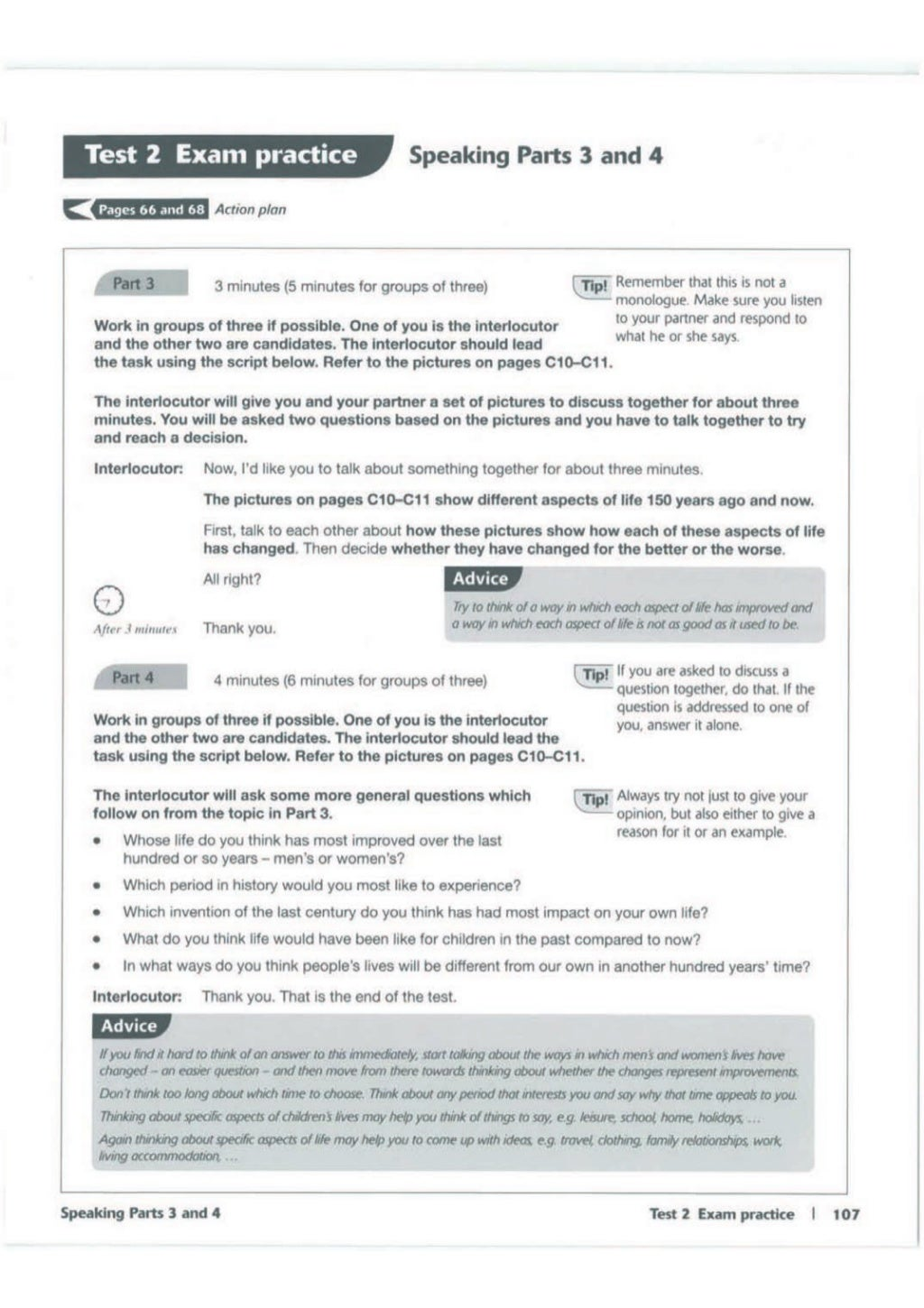 Advanced trainer 6 practice tests with answers book4joy (1) page 108
