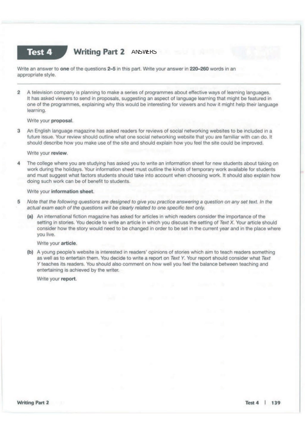 Advanced trainer 6 practice tests with answers book4joy (1) page 140