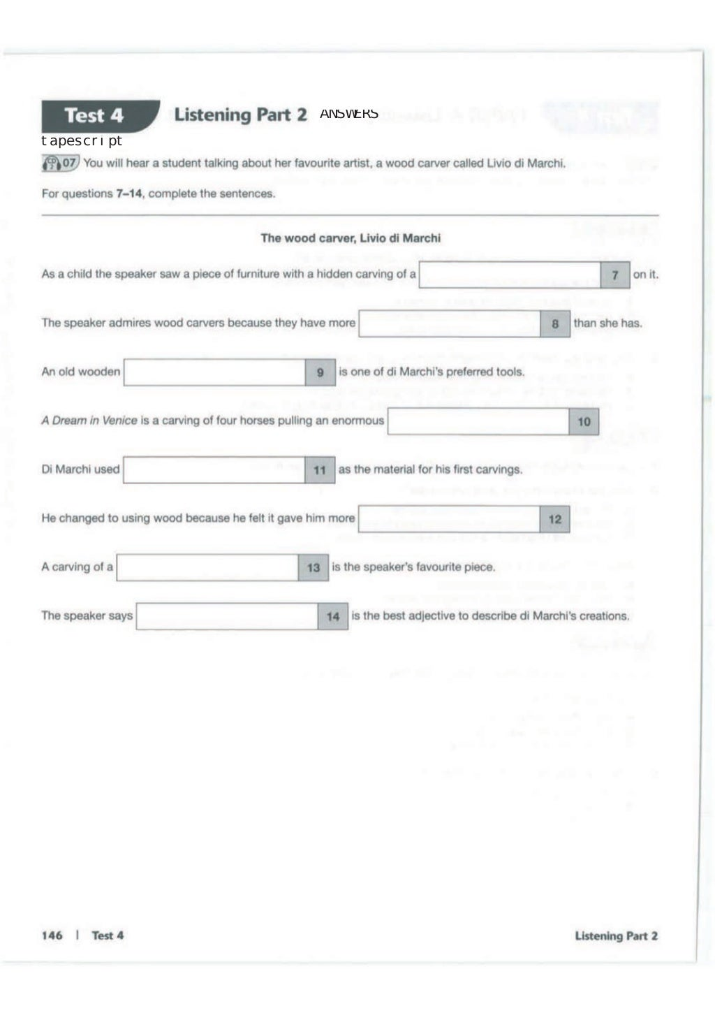 Advanced trainer 6 practice tests with answers book4joy (1) page 147