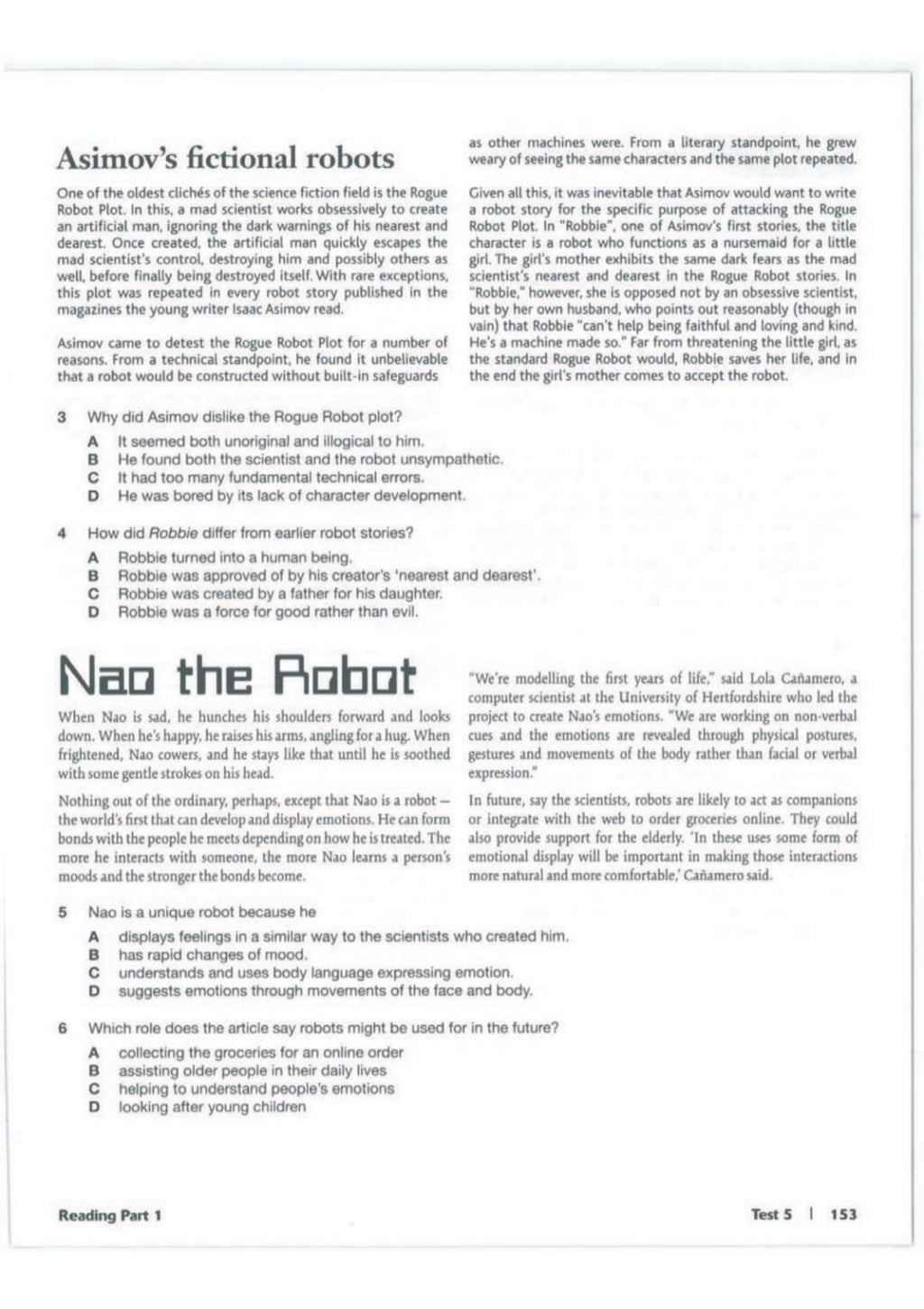 Advanced trainer 6 practice tests with answers book4joy (1) page 154