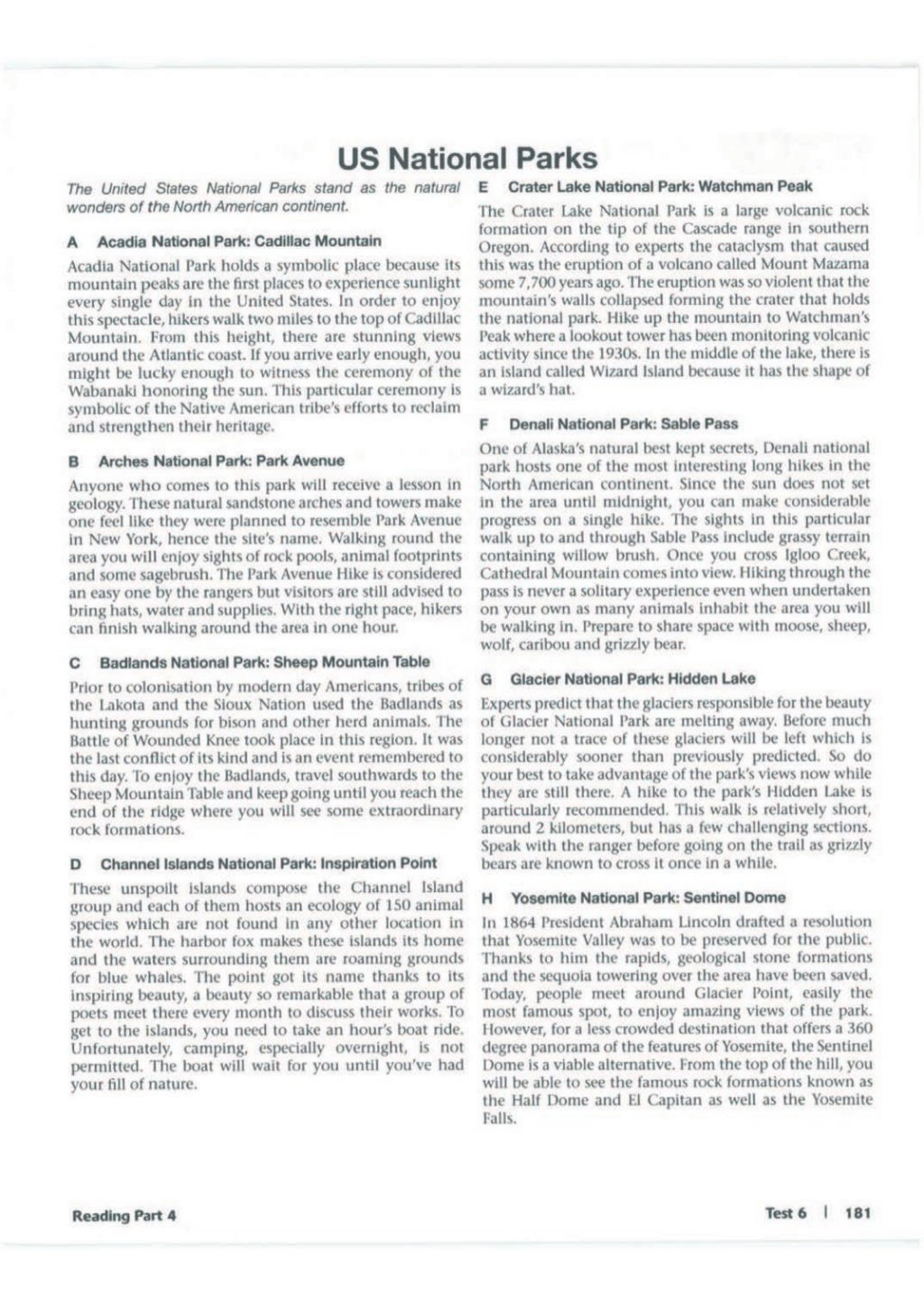 Advanced trainer 6 practice tests with answers book4joy (1) page 182
