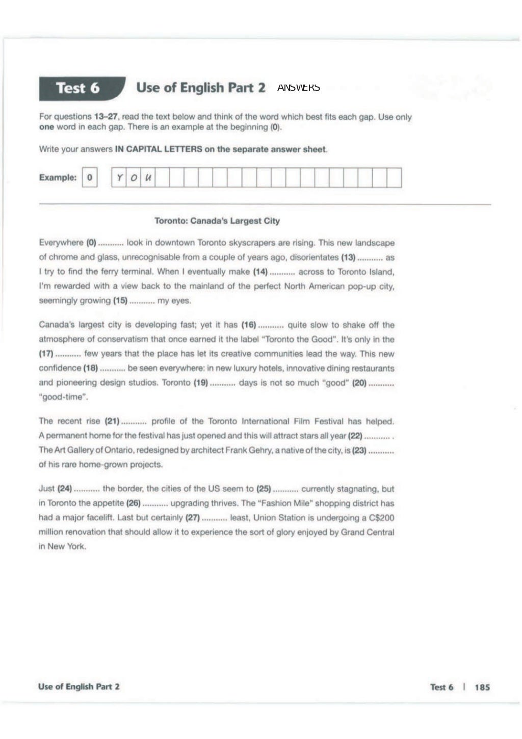 Advanced trainer 6 practice tests with answers book4joy (1) page 186