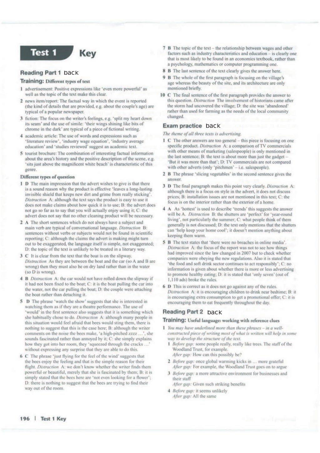 Advanced trainer 6 practice tests with answers book4joy (1) page 197
