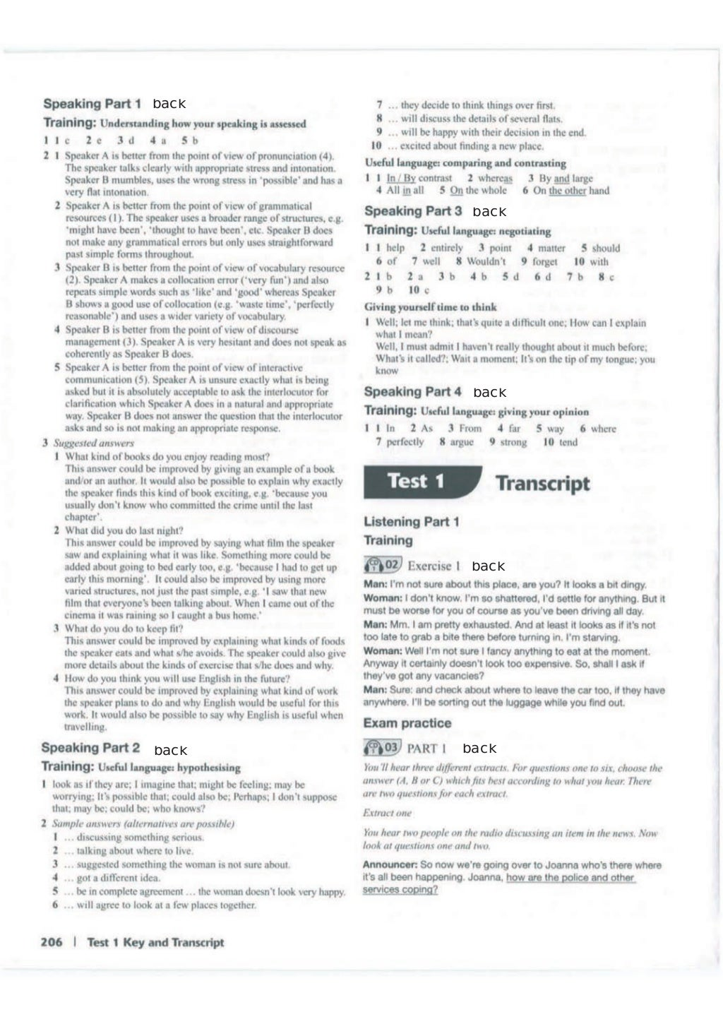 Advanced trainer 6 practice tests with answers book4joy (1) page 207