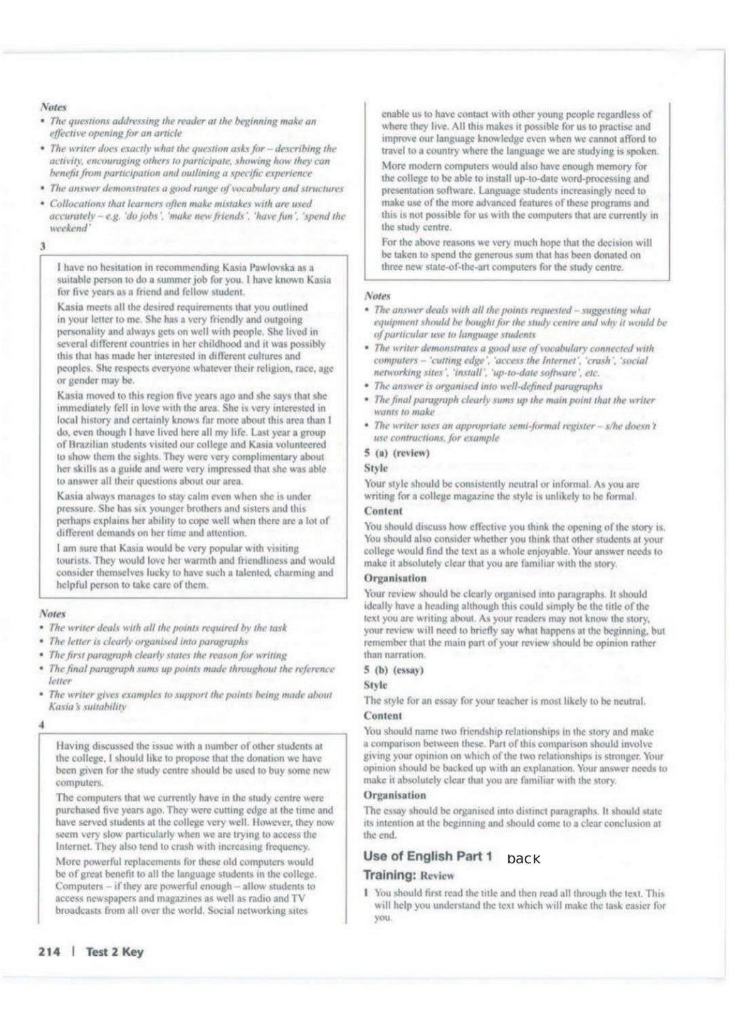 Advanced trainer 6 practice tests with answers book4joy (1) page 215
