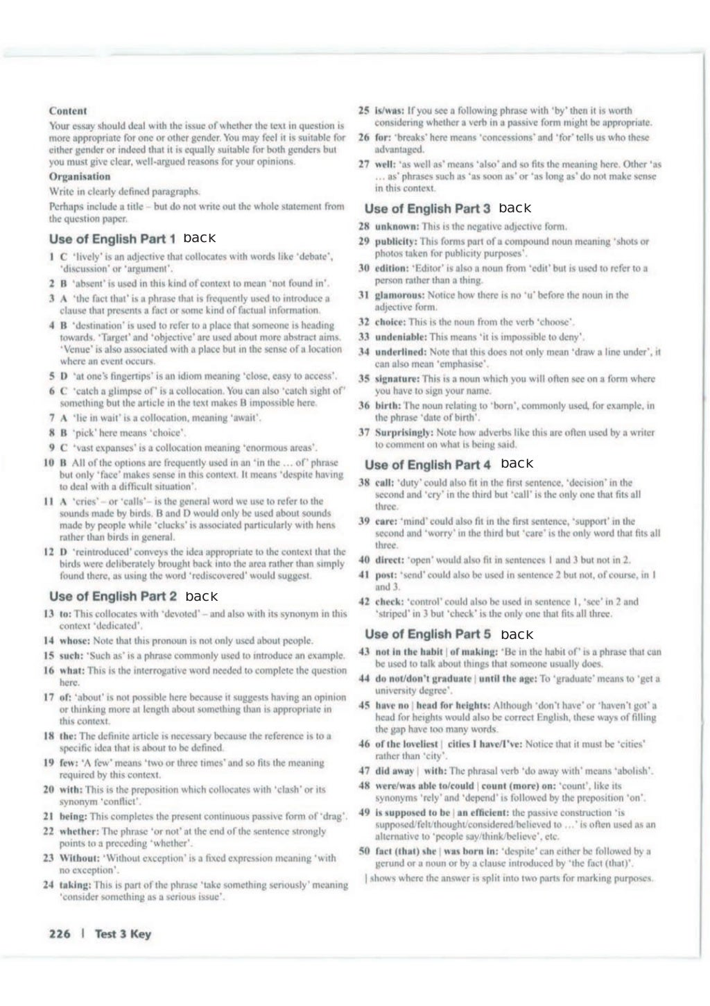 Advanced trainer 6 practice tests with answers book4joy (1) page 227
