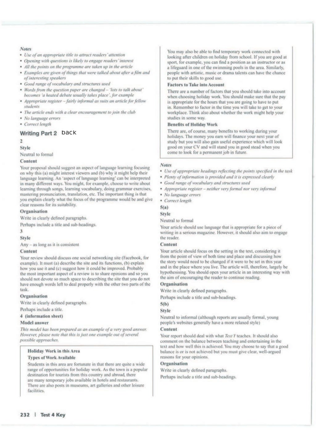 Advanced trainer 6 practice tests with answers book4joy (1) page 233