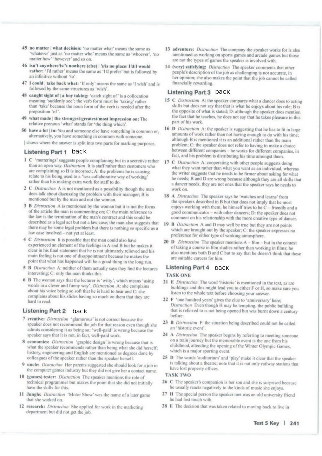Advanced trainer 6 practice tests with answers book4joy (1) page 242
