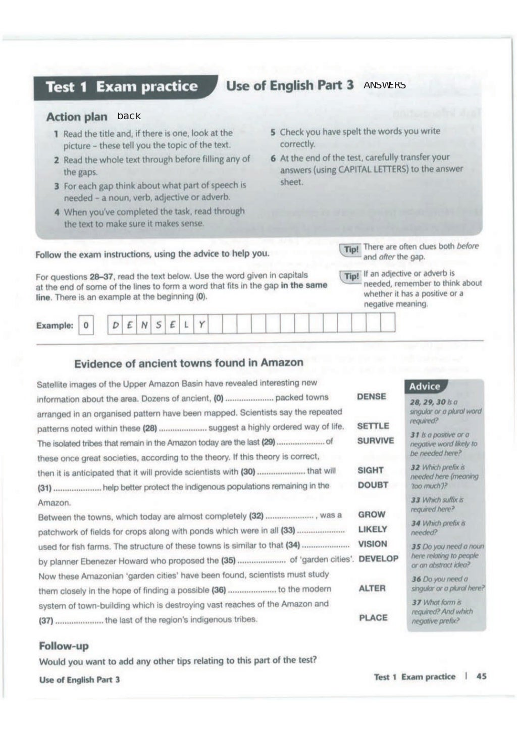 Advanced trainer 6 practice tests with answers book4joy (1) page 46