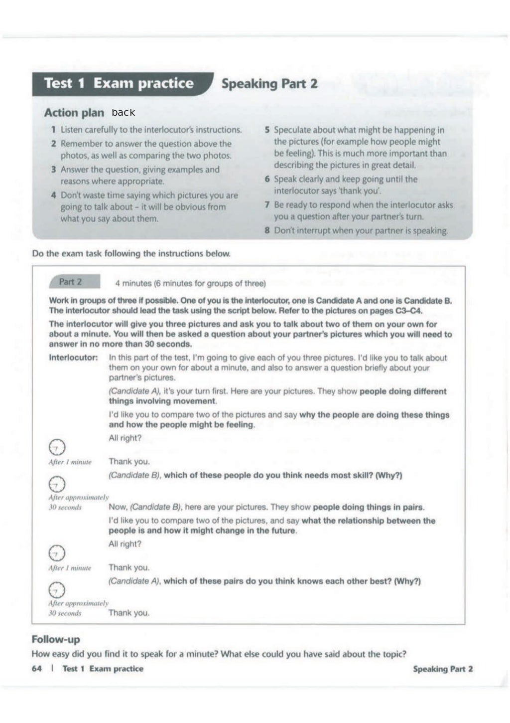 Advanced trainer 6 practice tests with answers book4joy (1) page 65