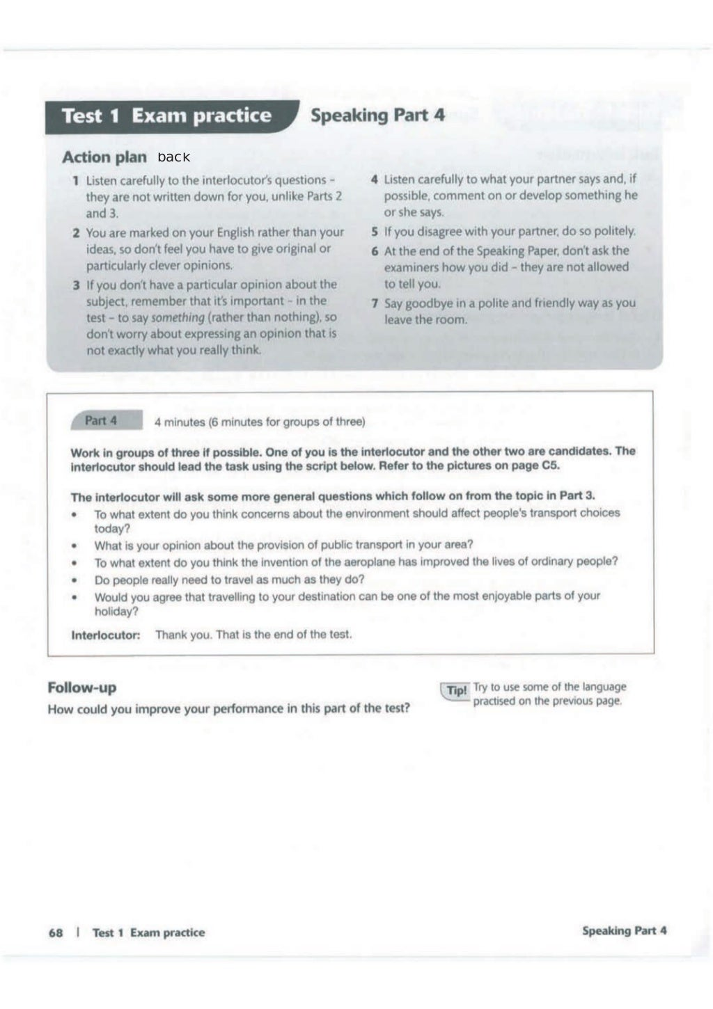 Advanced trainer 6 practice tests with answers book4joy (1) page 69