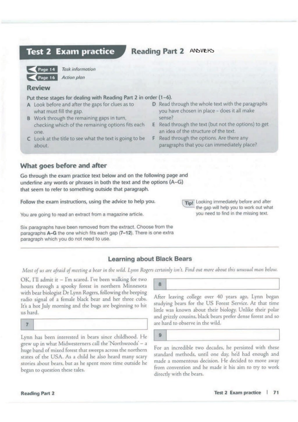 Advanced trainer 6 practice tests with answers book4joy (1) page 72