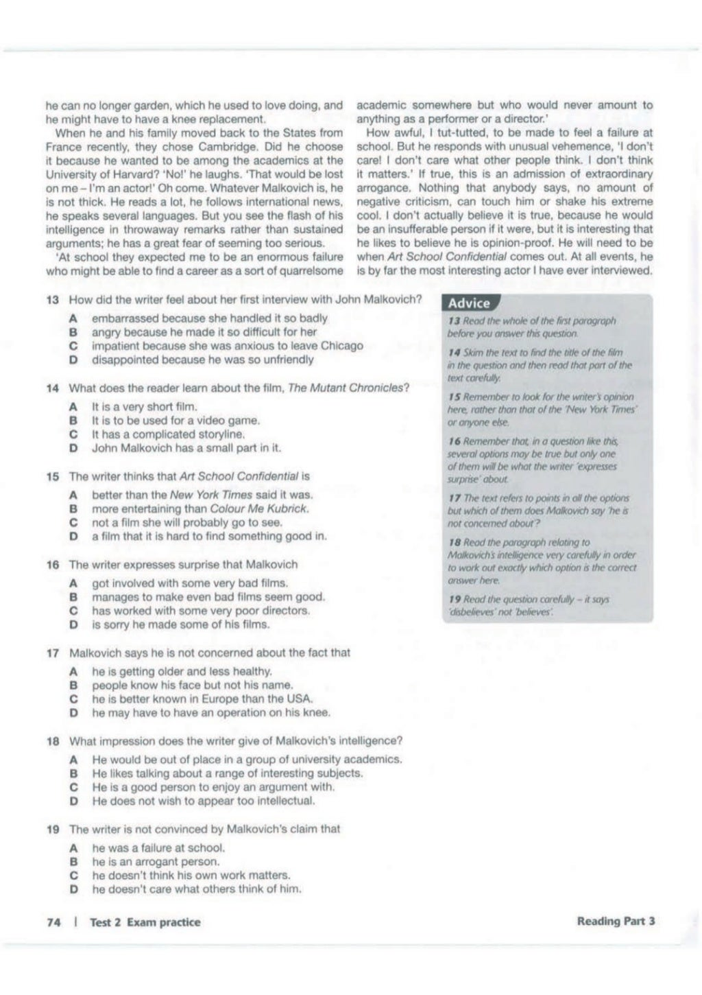 Advanced trainer 6 practice tests with answers book4joy (1) page 75