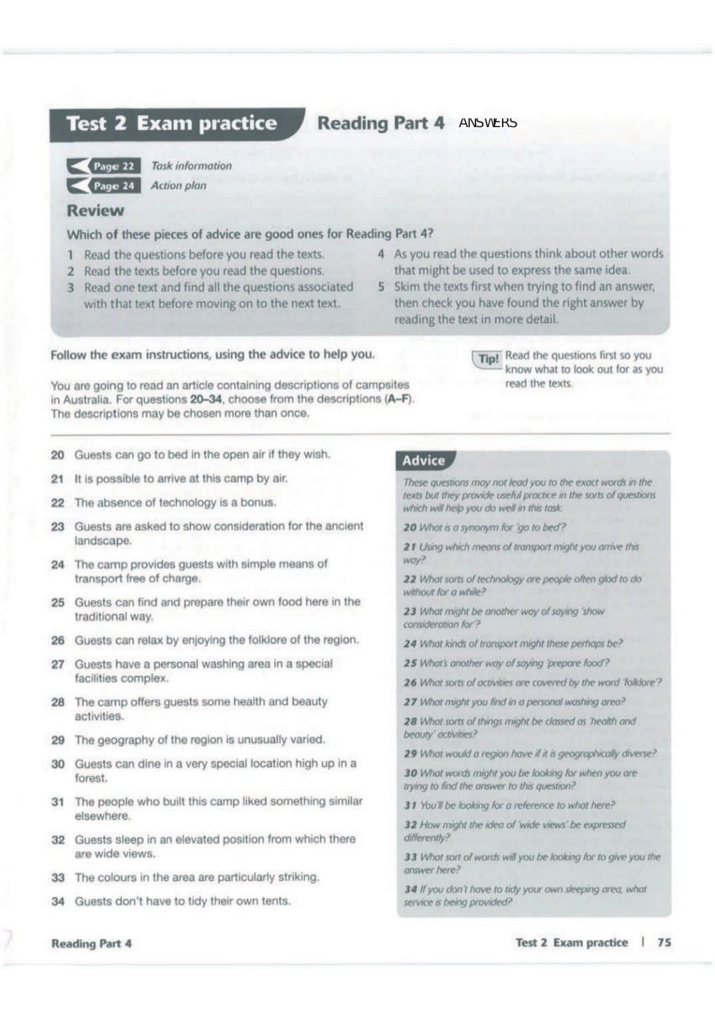 Advanced trainer 6 practice tests with answers book4joy (1) page 76