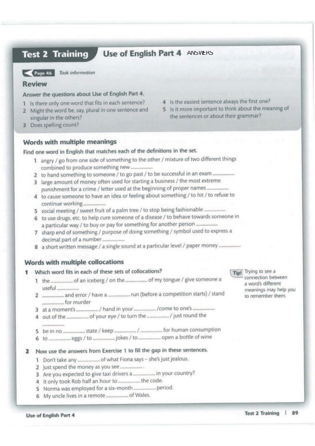 Advanced trainer 6 practice tests with answers book4joy (1) page 90